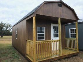 prebuilt high barn Front Porch