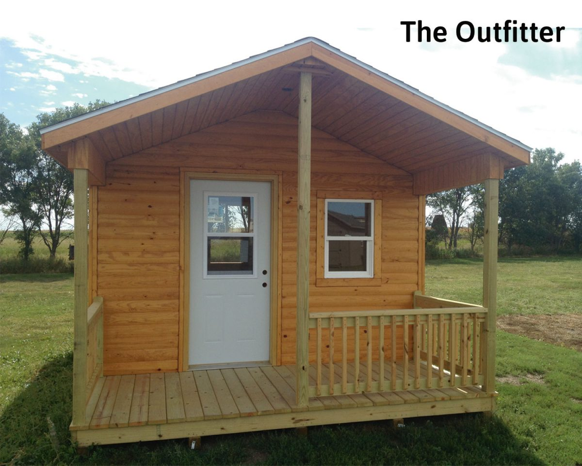 The Outfitter 12x32 Storage Building Cabin
