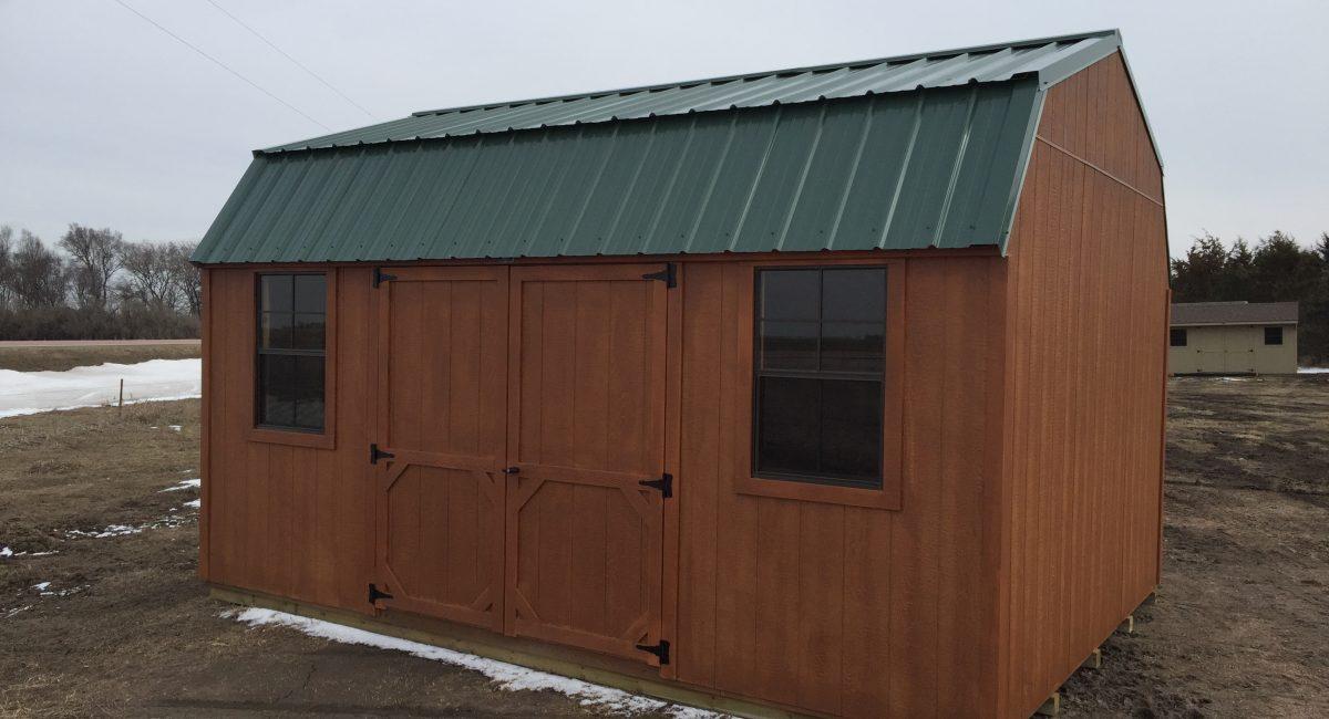 prebuilt barn storage sheds with loft