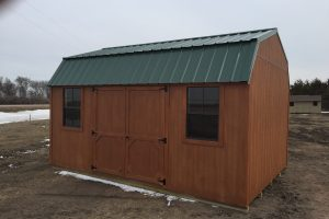 prebuilt barn storage sheds with loft