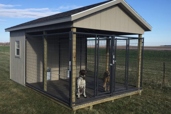 south dakota dog house kennel shed