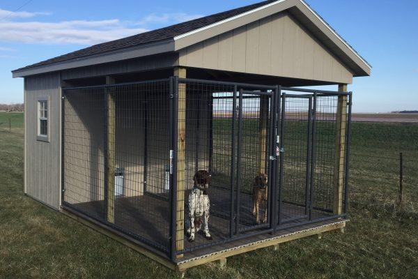 south dakota dog house kennel shed
