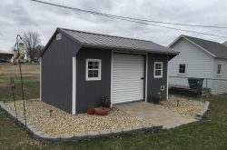 buy lawn mower outdoor storage shed