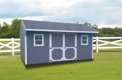 locally made wooden quaker storage shed for sale