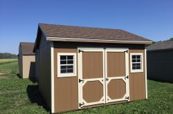 prefab wooden ranch style shed sioux center ia