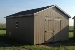 ranch style shed
