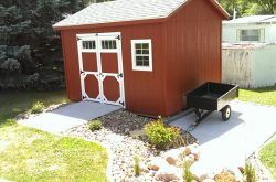 red backyard storage shed for sale sioux falls sd