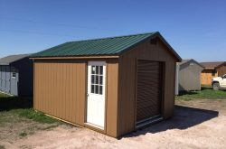 workshop ranch style shed ready built delivered south dakota