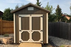 custom made atv storage shed for sale