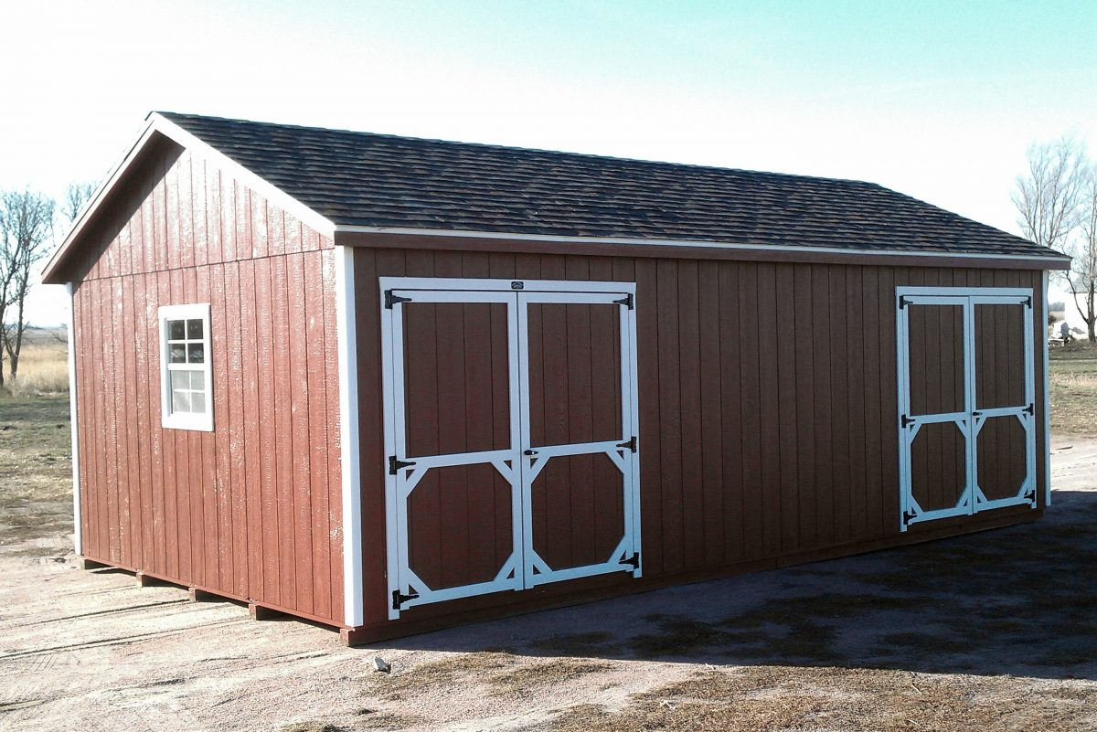 Ranch Style Shed Quality Storage Buildings South Dakota