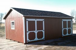 custom made ranch style shed sioux falls sd