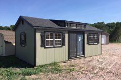wooden pre built wood sheds