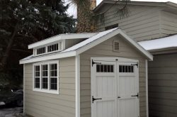 beautiful pre built wood sheds for sale