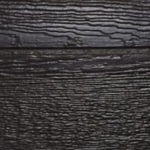 ebony urethane shed siding color