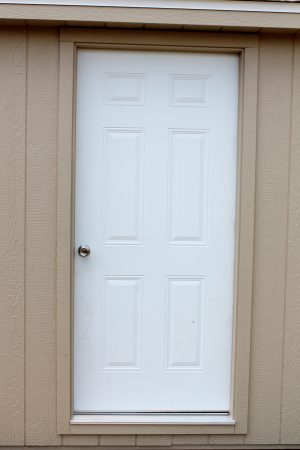 36 inch solid door for sheds