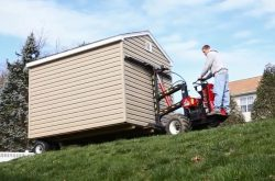 shed mule for pre built sheds for sale