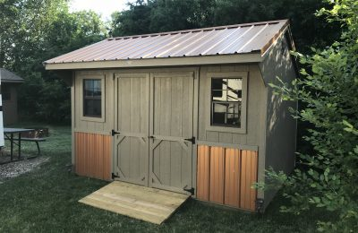 quaker portable shed practical