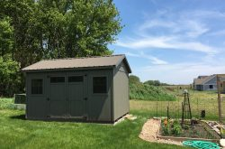 Ranch shed portable affordable